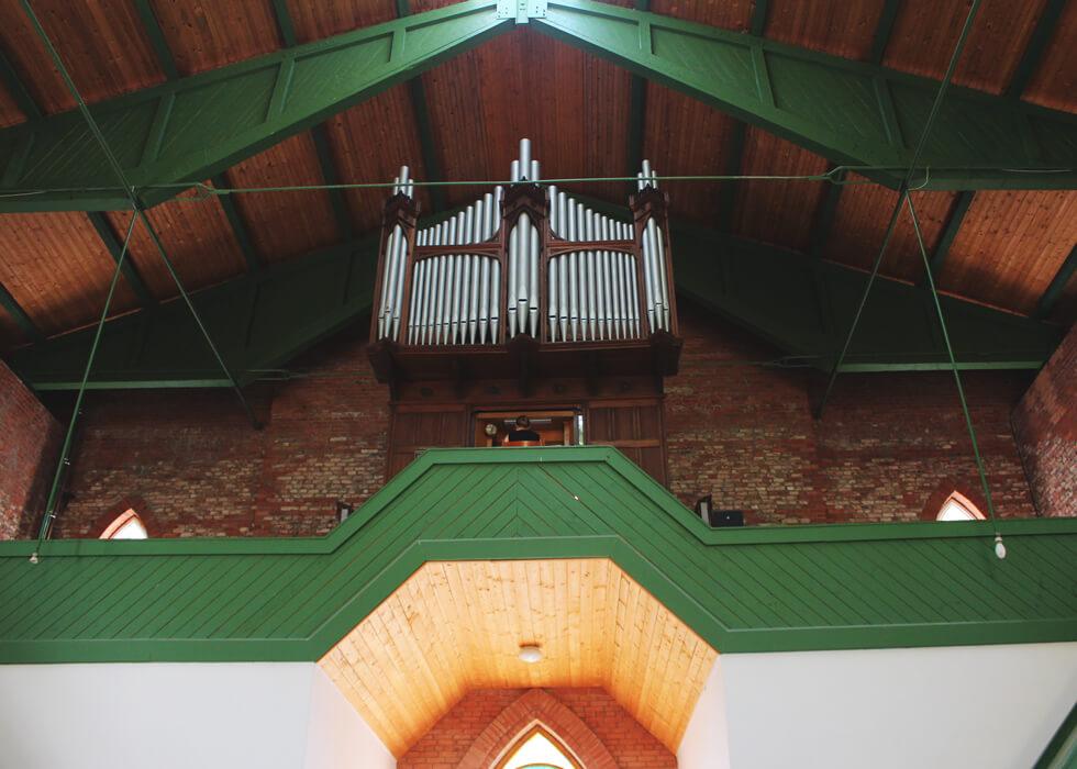 Vecpiebalgas baznīcas ērģeles